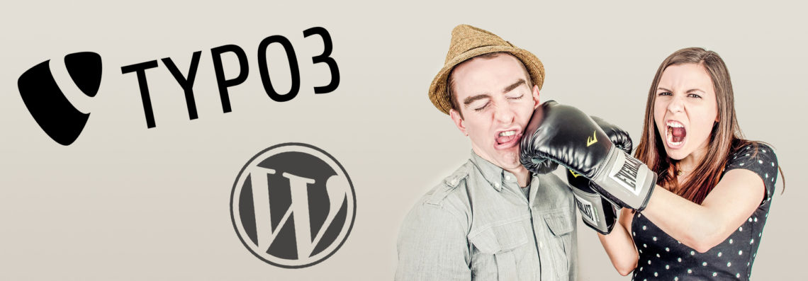 CMS-Wars: WordPress vs. TYPO3